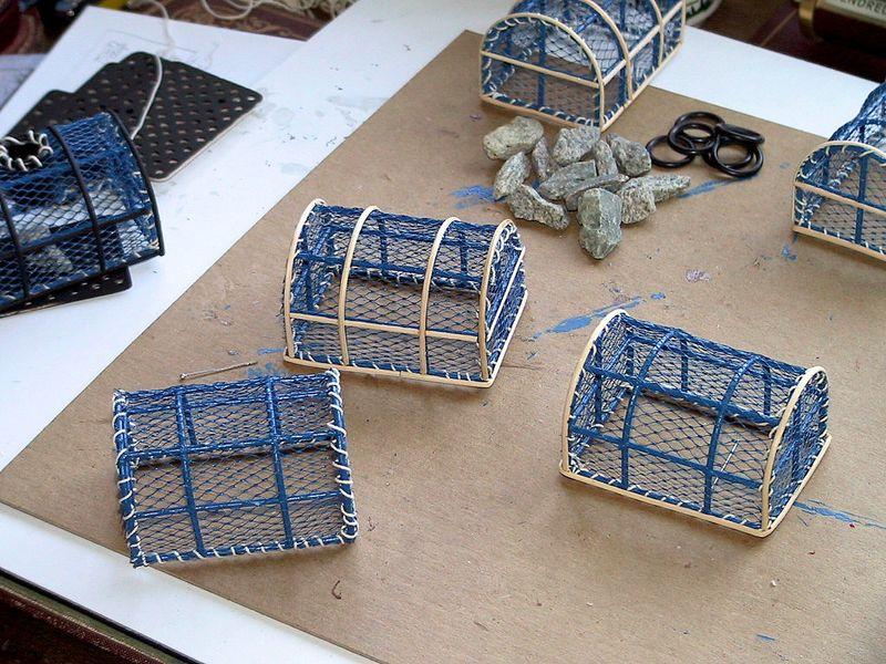 Fabriquer Un Casier À Homard chantiers naval du quennetier] casiers à crustacés